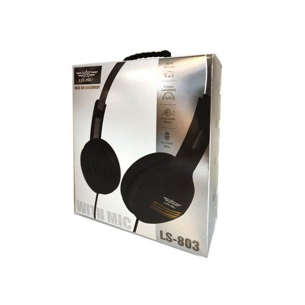 Lelisu Wired headphone with mic/LS803