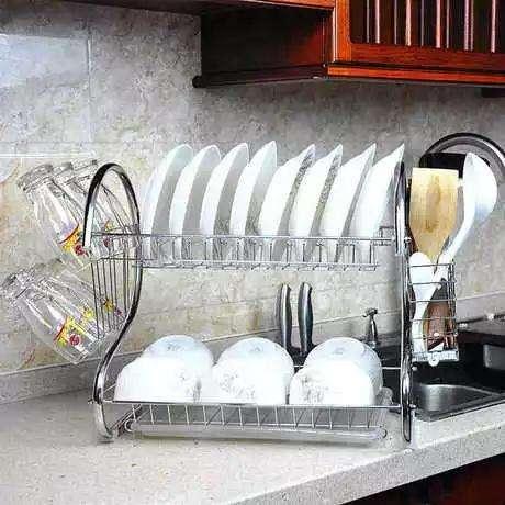 2 Layer Dish Rack/2 Layer Dish Drainer Rack
