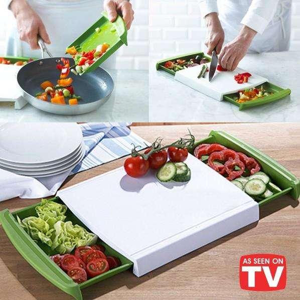 Chop N Clear/Cutting Board
