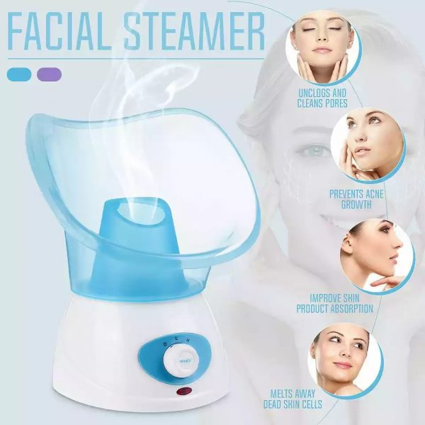 Face Steamer and Relaxation Therapy Facial Cleansing
