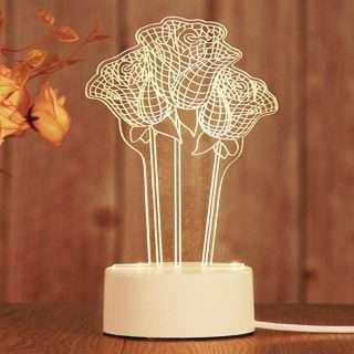 LED Table Lamp/3D LED Night Lamp