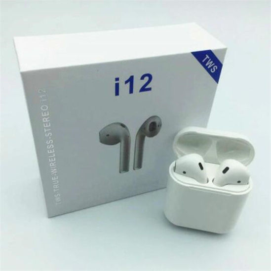i12 TWS Wireless Headset Airpods Bluetooth 5 0 Touch
