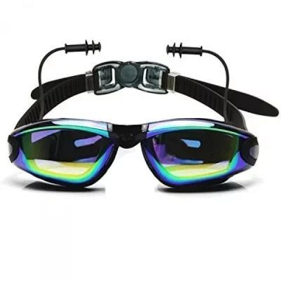 Swimming Goggles with earplug/UV Shield anti-fog