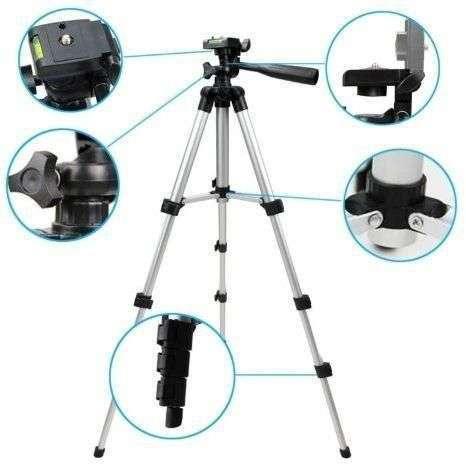 Tripod 330A/Camera Stand/Phone Stand/Holder