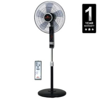 Pedestal/Stand Fan with Remote