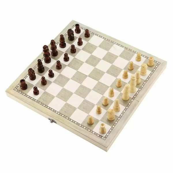 Wooden Chess Board/Foldable