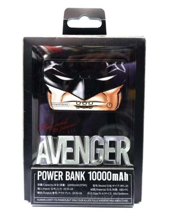 Avenger Batman Power Bank/10000mah