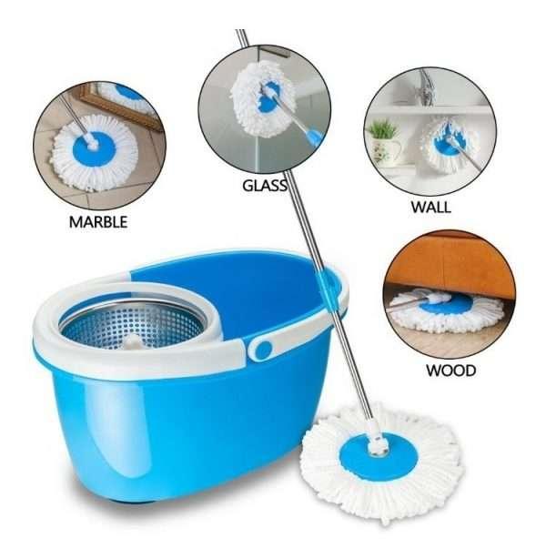 Magic 360 degree Spin Mop Bucket/Plastic Drum