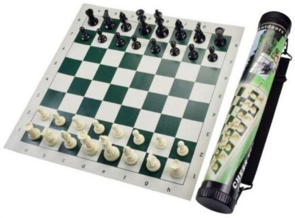 Chess Roll Board with Bag Cover/Small