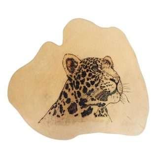 Wooden Burn Design/Tiger/Eco friendly