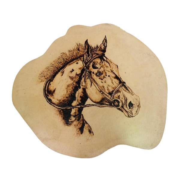 Wooden Burn Design/Horse/Eco friendly