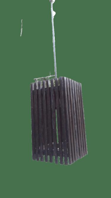 Pendant Rectangular Lampshade Decors / Kithul