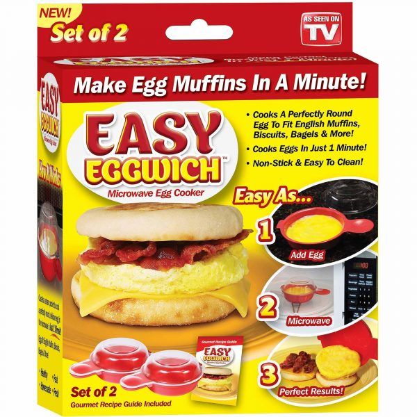 Easy Eggwich/microwave egg cooker