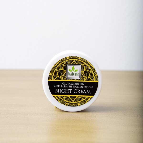 Gluta Arbuteen Anti Blemish Pigmentation Night Cream-50g