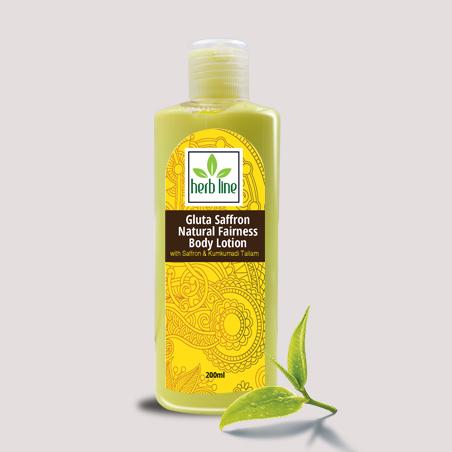 Saffron Natural Fairness Body Lotion 200 ML