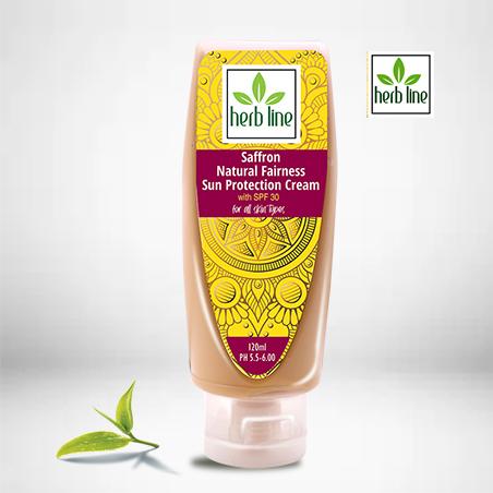 Saffron Natural Fairness Sun Protection Cream 120 ML