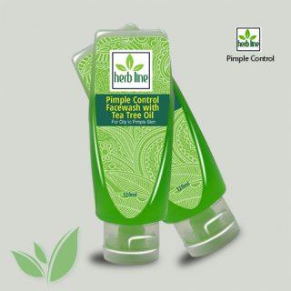 Tea Tree Oil Pimple Control Face Wash 120 ML