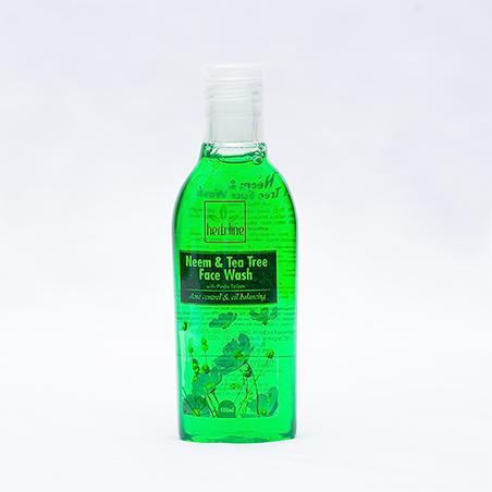 Venivel And Wild Turmeric Neem And Tea Tree Face Wash 100 Ml