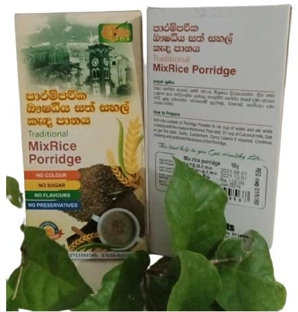 Traditional Mix Rice Porridge